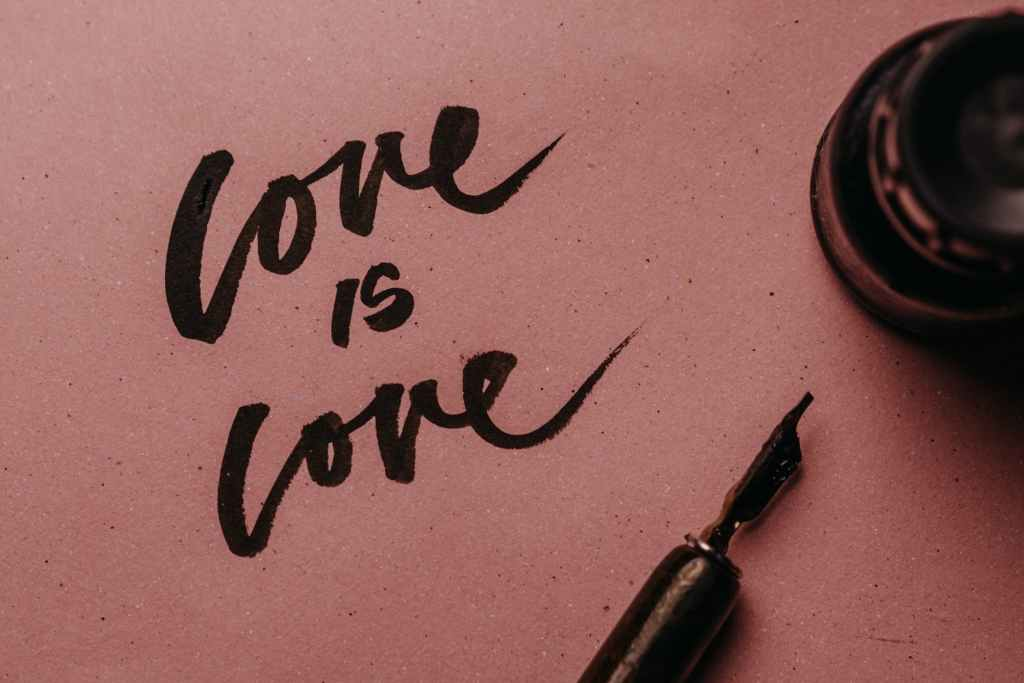 Love is love, different love languages